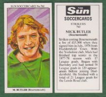 Bournemouth Mick Butler